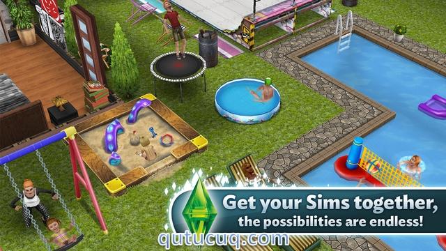 The Sims ekran görüntüsü