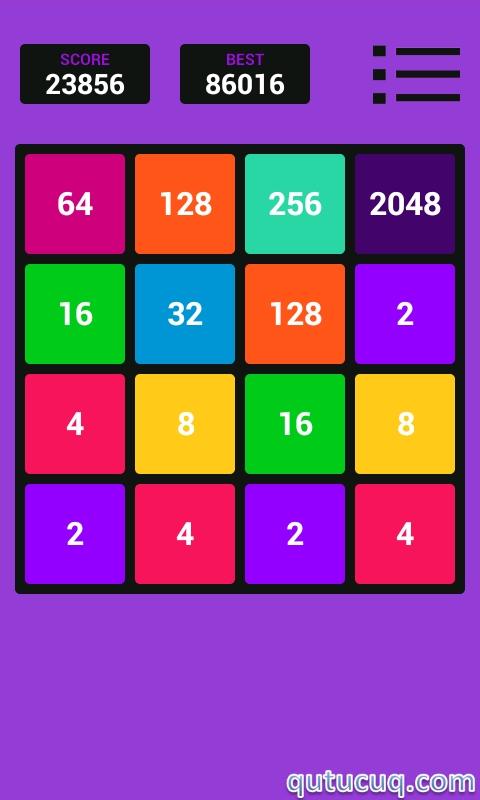 2048 Rəngli ekran görüntüsü