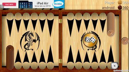 Backgammon – Narde ekran görüntüsü