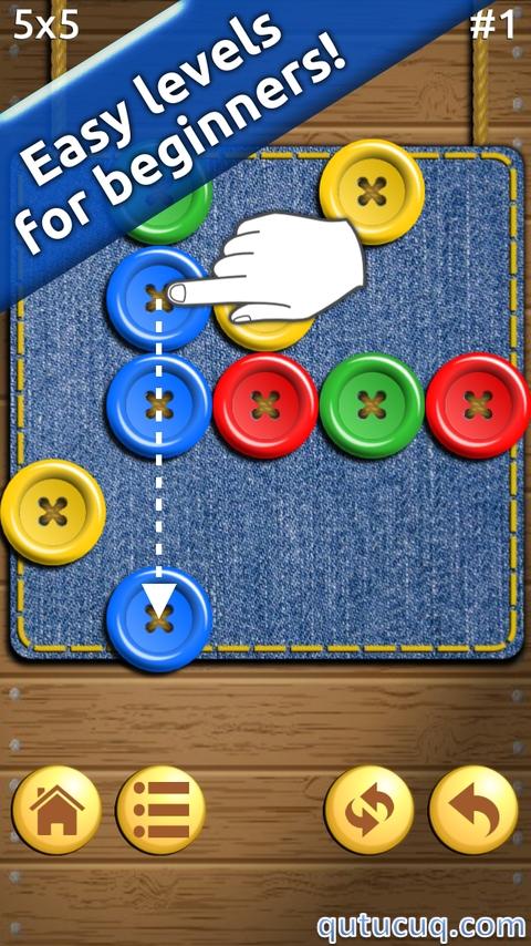 Buttons and Scissors ekran görüntüsü