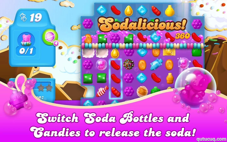Candy Crush Soda Saga ekran görüntüsü