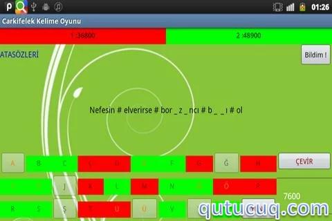 Carkifelek Kelime Oyunu ekran görüntüsü