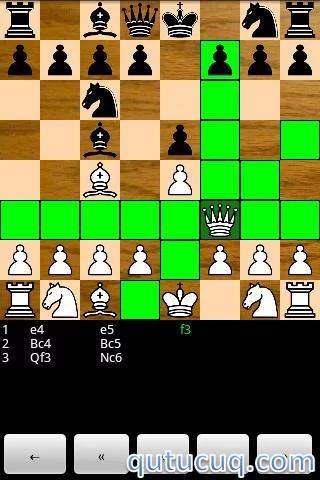 Chess for Android Yüklə ekran görüntüsü