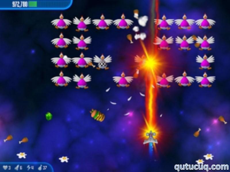 Chicken Invaders ekran görüntüsü