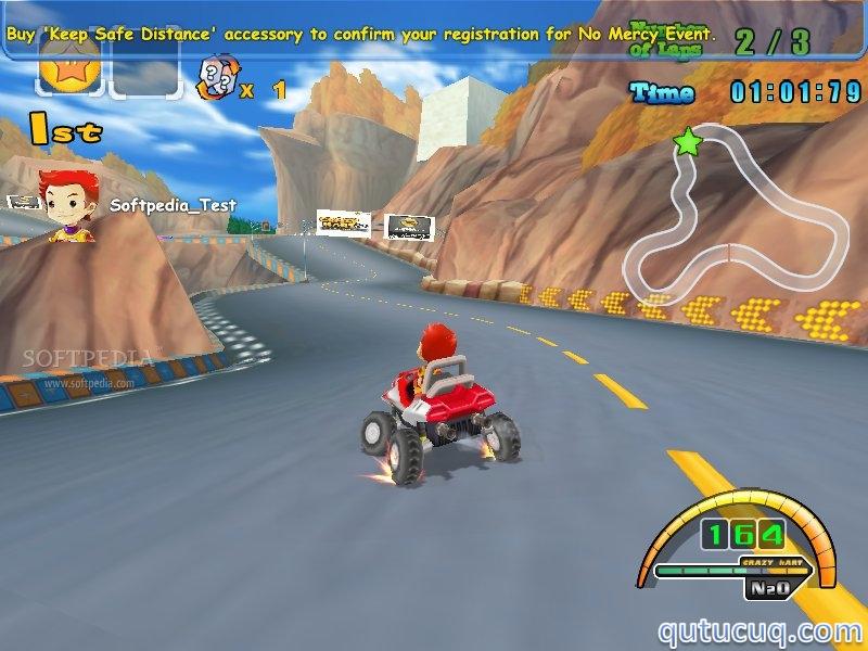 Crazy Kart Yüklə ekran görüntüsü
