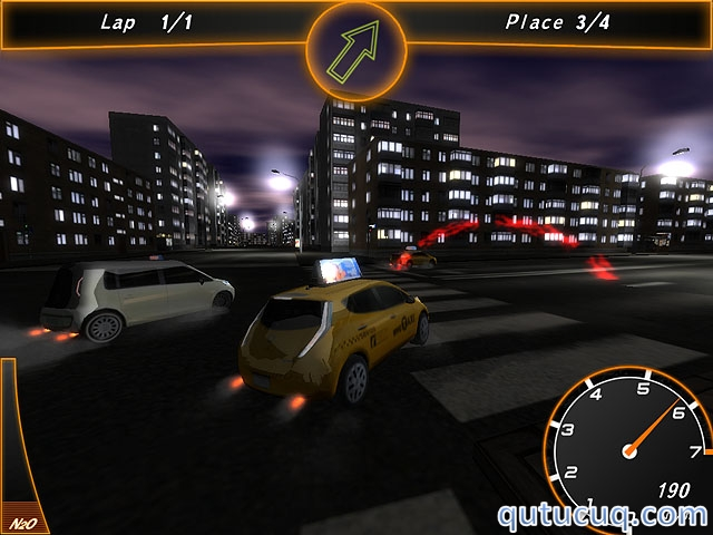Crazy Taxi Racers ekran görüntüsü