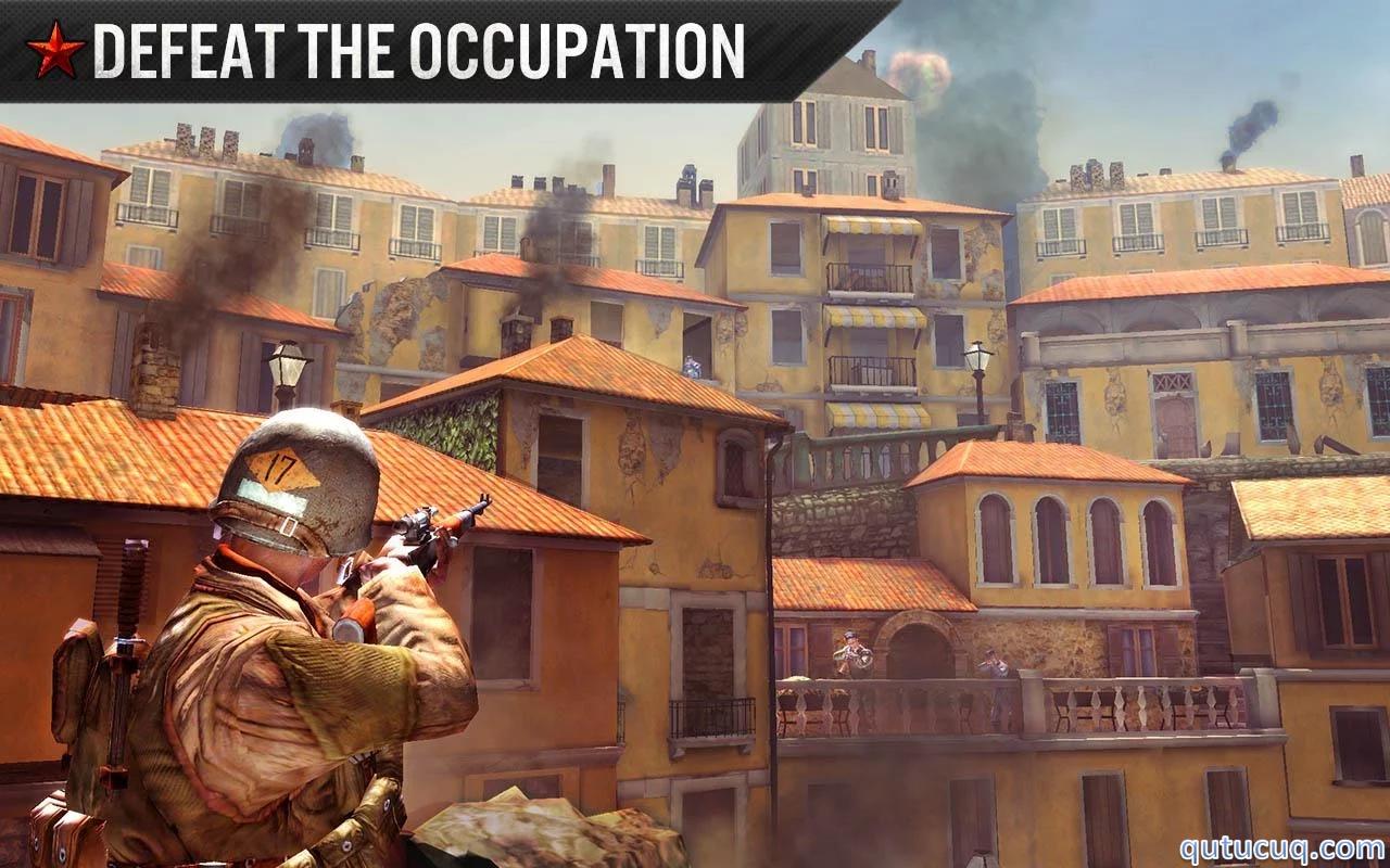Frontline Commando: WW2 ekran görüntüsü