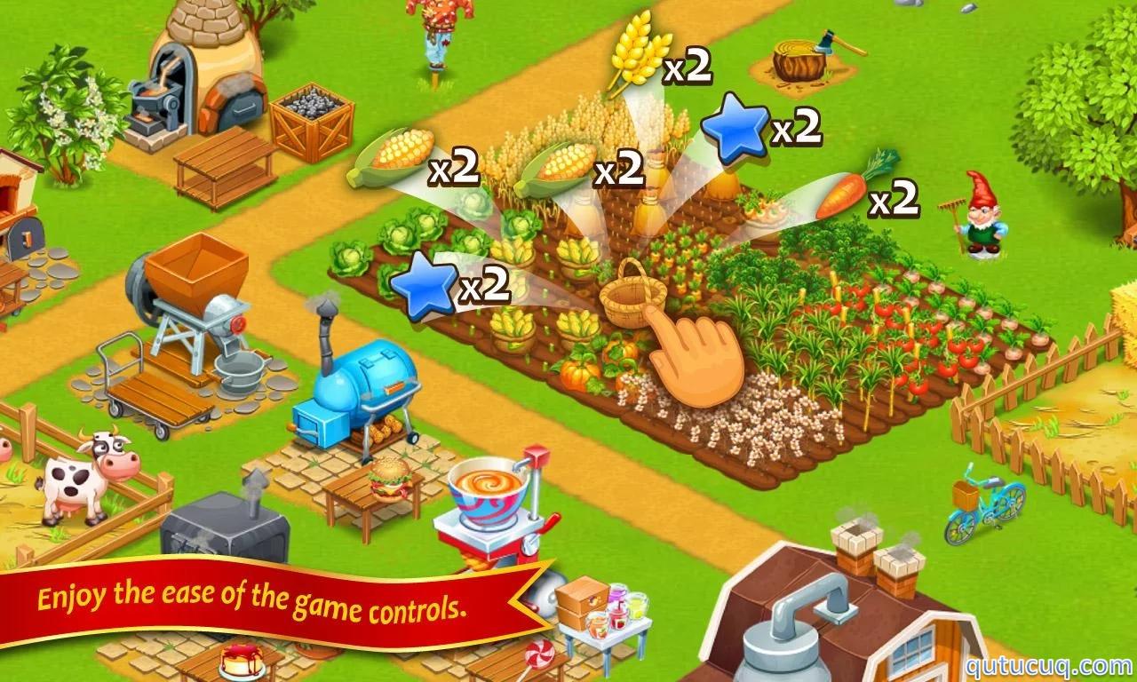 Farm Town: Happy Day ekran görüntüsü