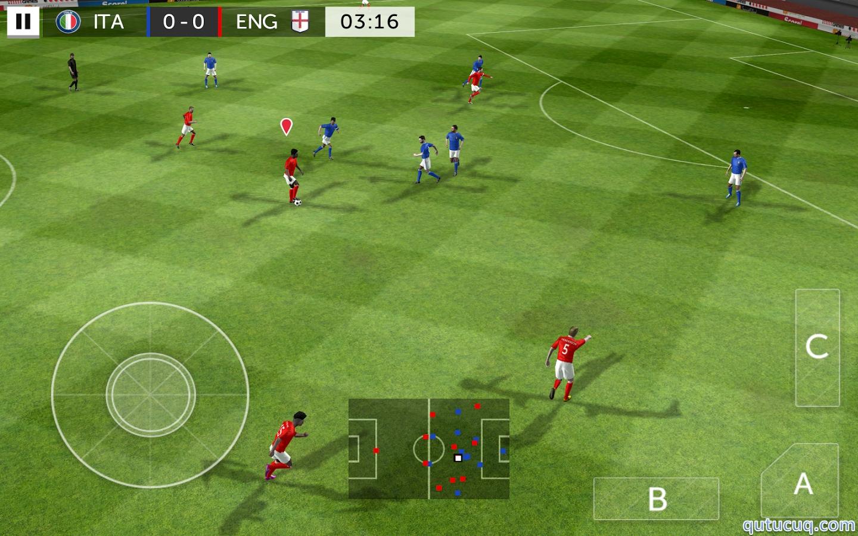 First Touch Soccer 2015 ekran görüntüsü
