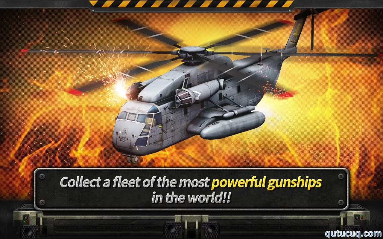 GUNSHIP BATTLE : Helicopter 3D ekran görüntüsü