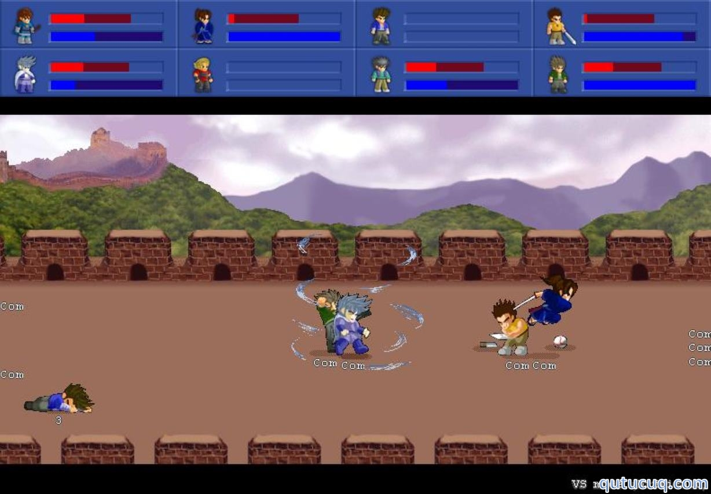 Little Fighter 2 Night ekran görüntüsü