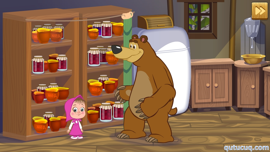 Маша и Медведь: Мороженое ekran görüntüsü