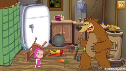 Маша и Медведь: Что лишнее? ekran görüntüsü