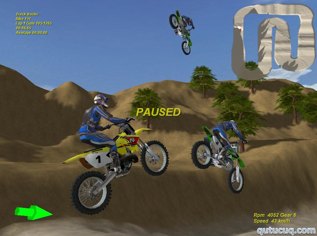 Motocross The Force ekran görüntüsü