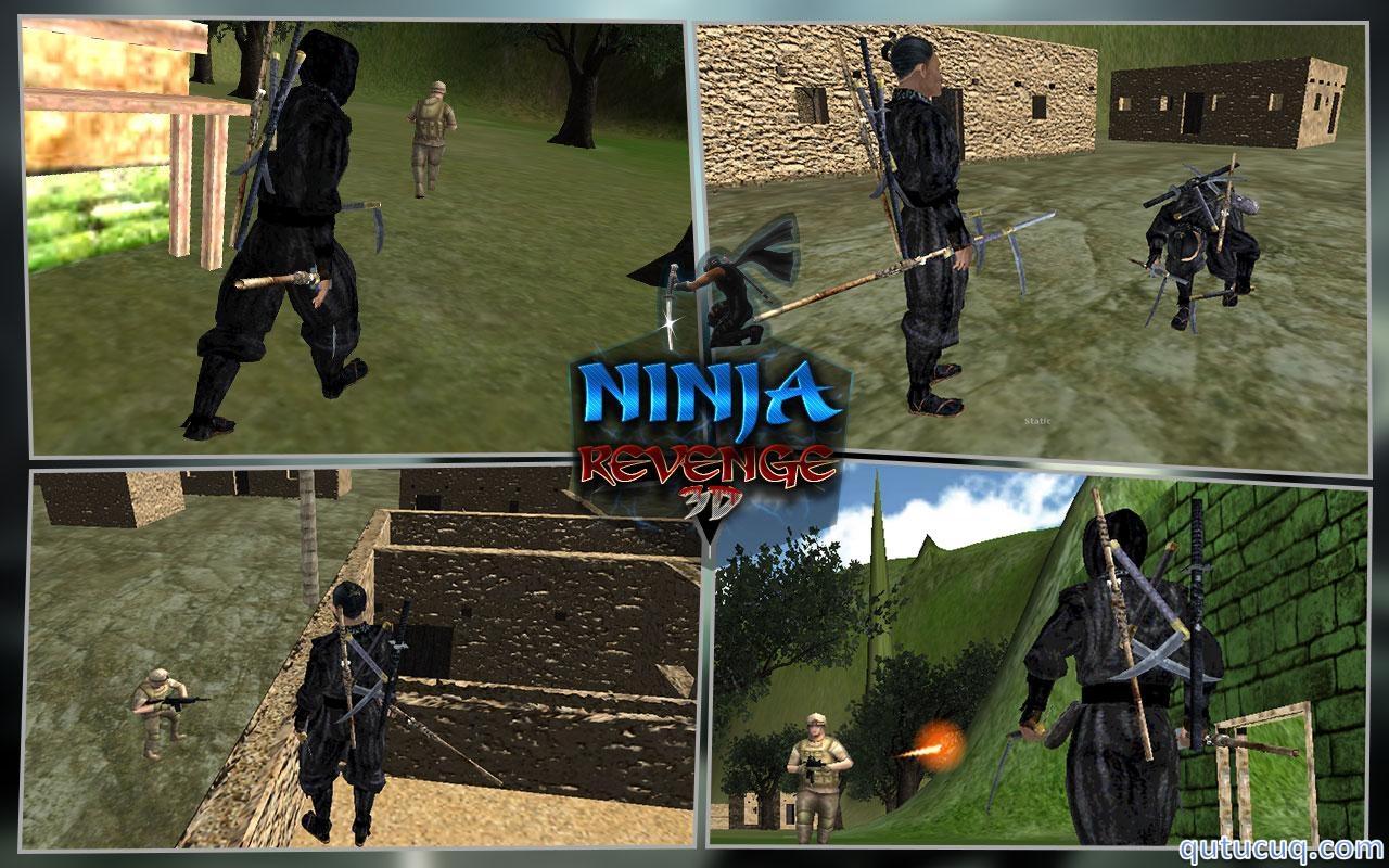 Ninja Warrior Assassin 3D ekran görüntüsü