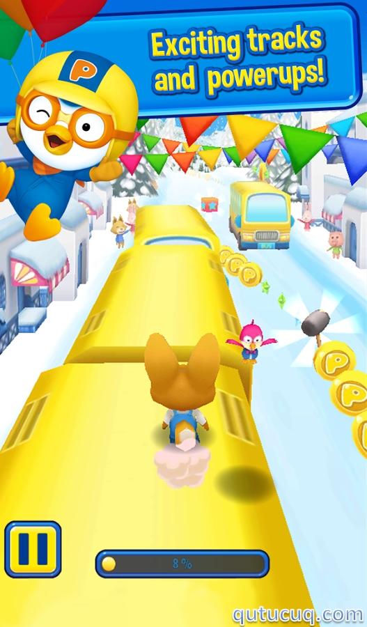 Pororo Penguin Run ekran görüntüsü