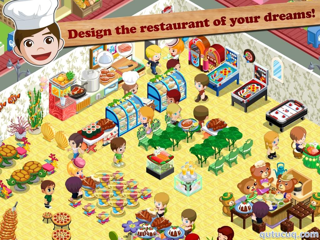 Restaurant Story: Summer Camp ekran görüntüsü