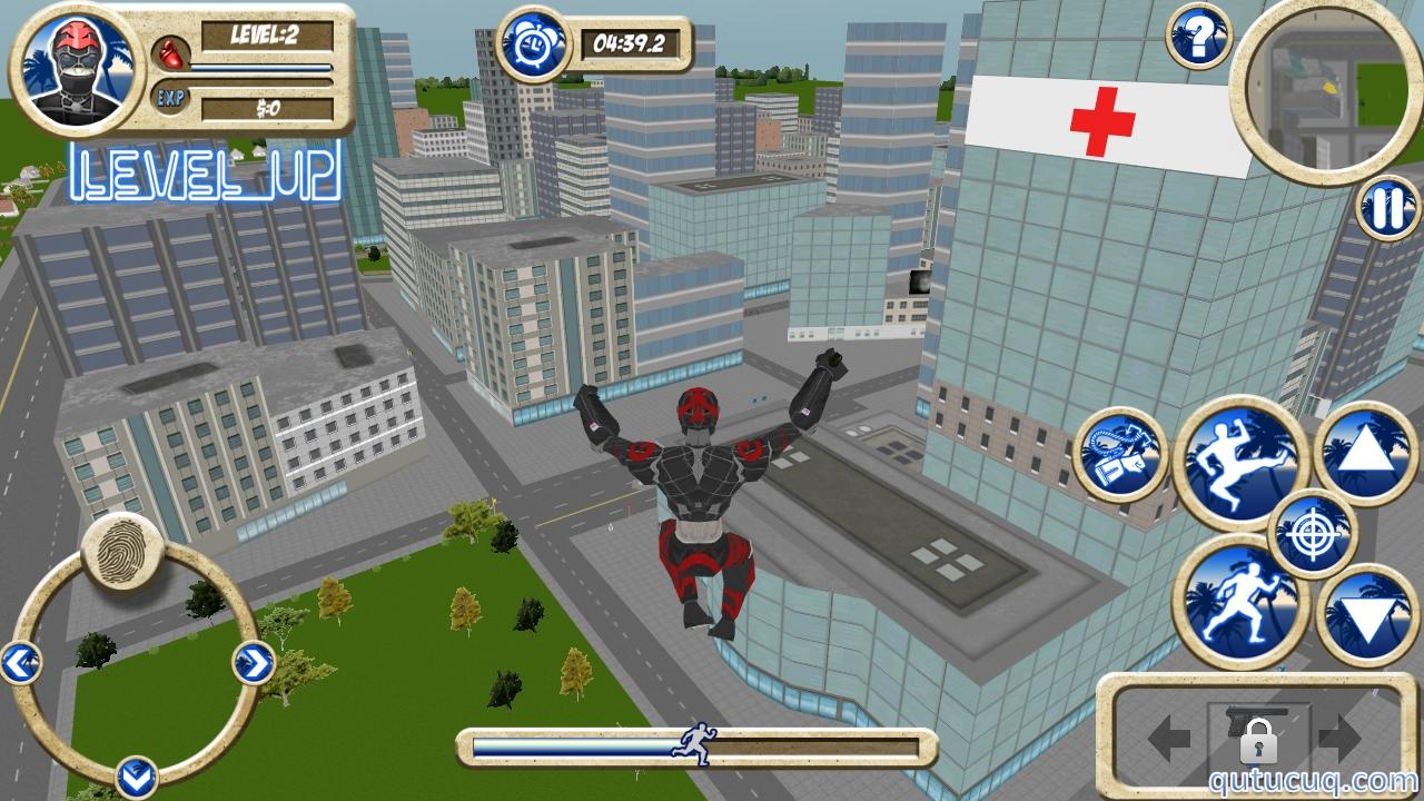 Rope Hero ekran görüntüsü