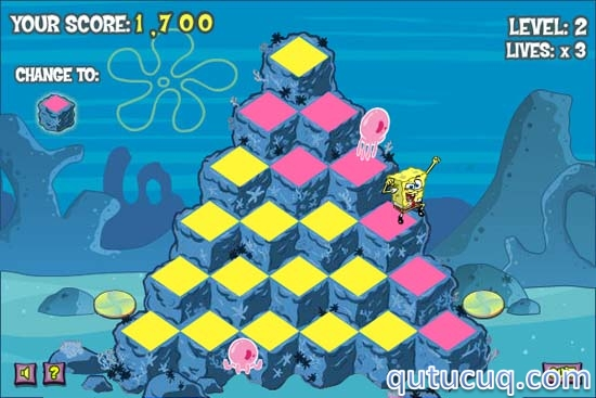 Spongebob Square Pants: Pyramid Peril ekran görüntüsü