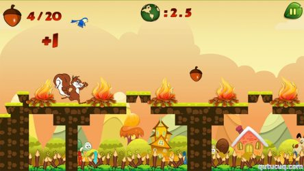 Squirrel Run ekran görüntüsü
