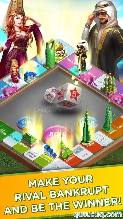 Travelling Millionaire ekran görüntüsü