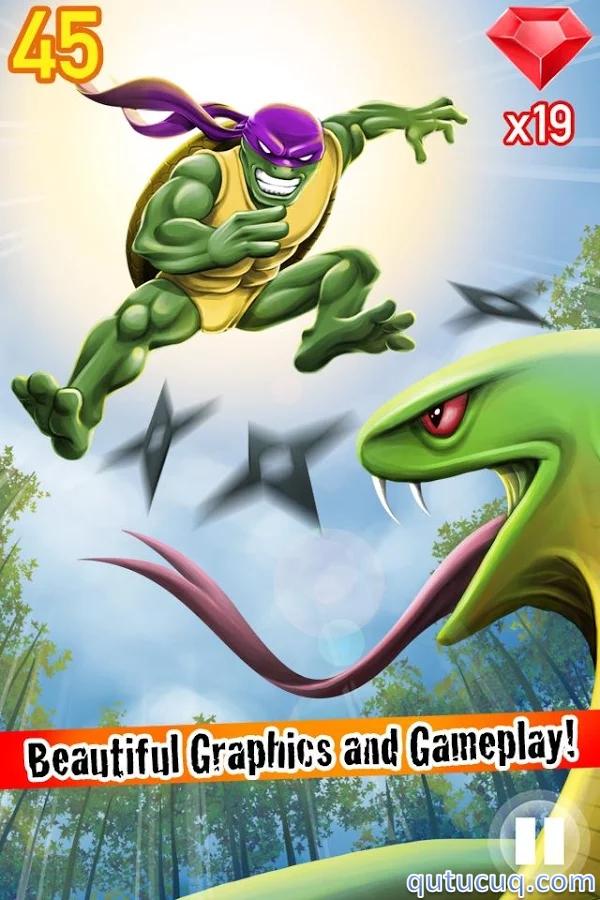 Turtle Ninja Jump Yüklə ekran görüntüsü