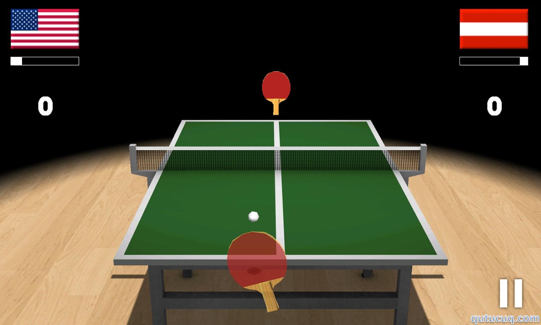 Virtual Table Tennis 3D ekran görüntüsü