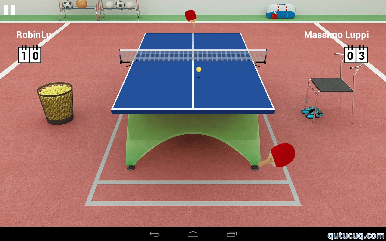 Virtual Table Tennis ekran görüntüsü