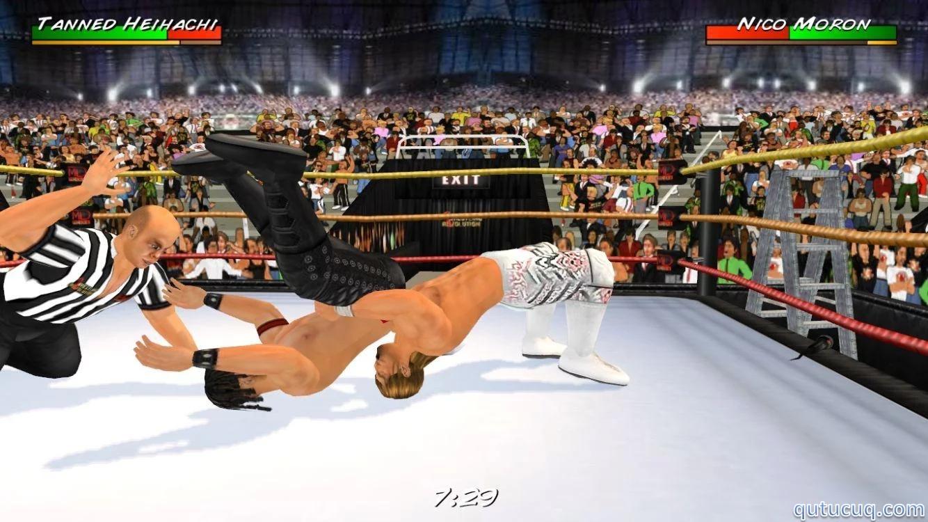 Wrestling Revolution 3D ekran görüntüsü