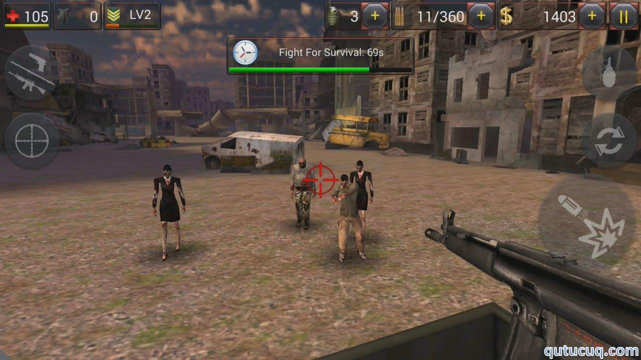 Zombie Crush 2 ekran görüntüsü