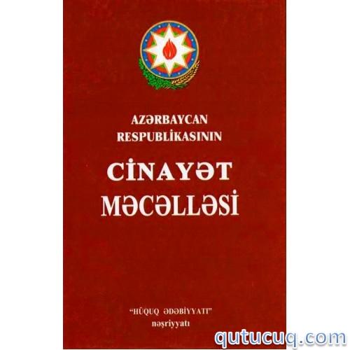 Скриншот в Уголовный кодекс Азербайджанской Республики
