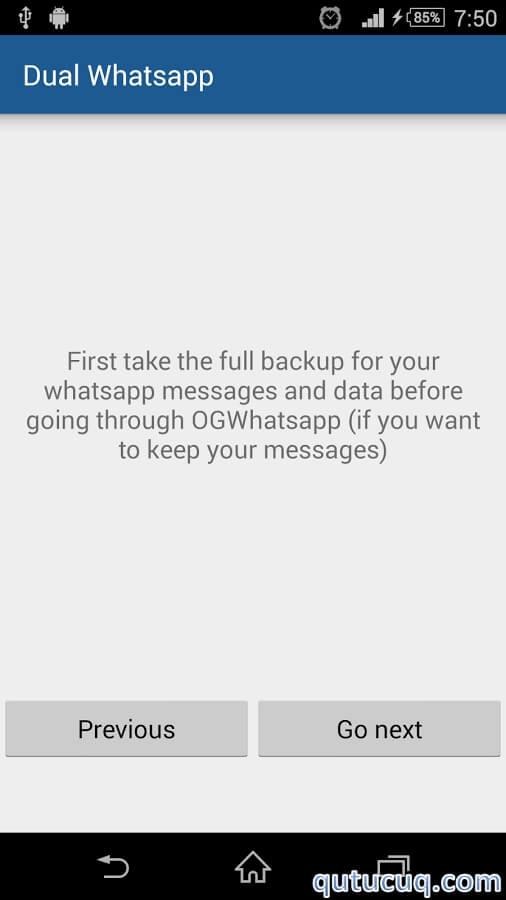 Dual for WhatsApp ekran görüntüsü