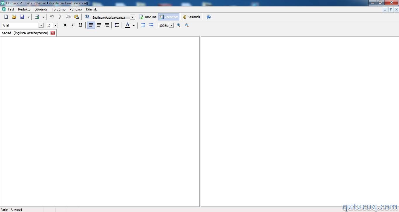 Dilmanc ekran görüntüsü