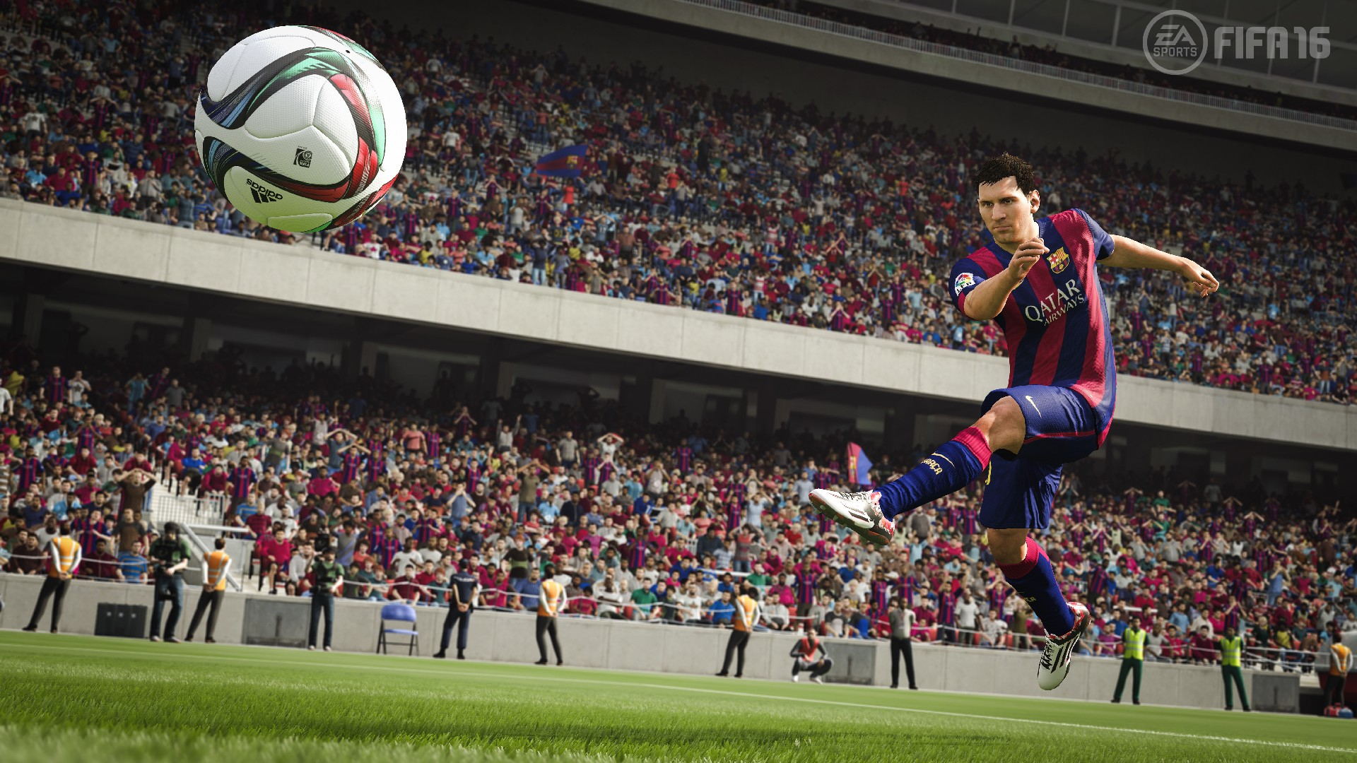 Скриншот в FIFA 16