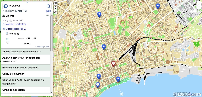 Vector Bakı Xəritəsi ekran görüntüsü