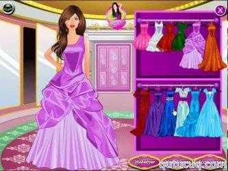 Barbie Princess Dress Up ekran görüntüsü
