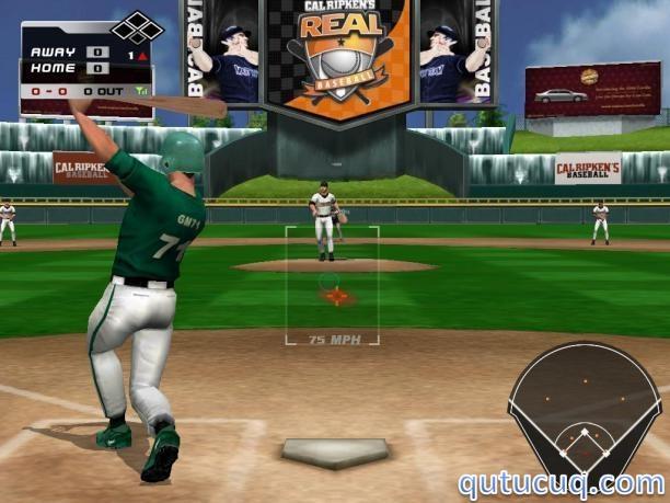 Cal Ripken's Real Baseball ekran görüntüsü