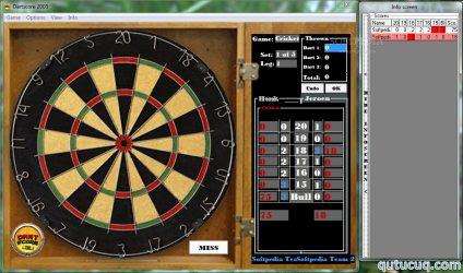 Dartscore 2005 ekran görüntüsü