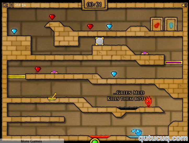 Fireboy and Watergirl 2 Yüklə ekran görüntüsü