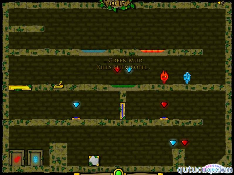 Fireboy and Watergirl 3 ekran görüntüsü