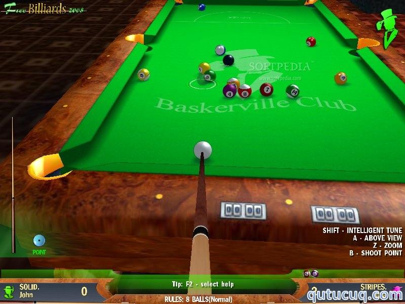 Free Billiards 2008 ekran görüntüsü