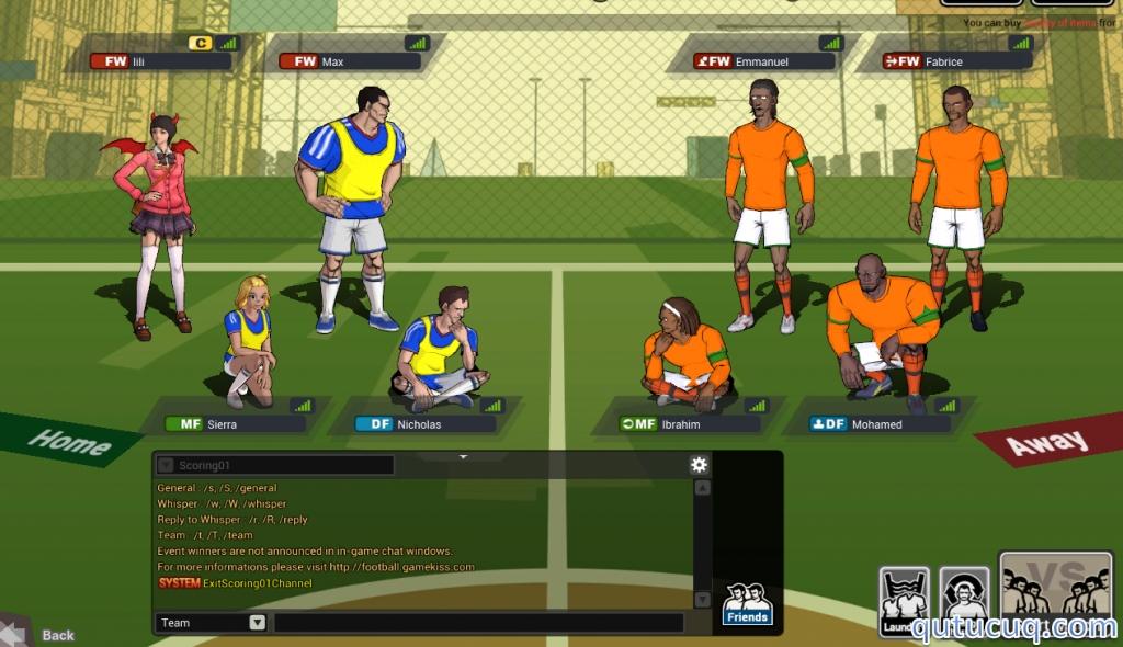 FreeStyle FootBall ekran görüntüsü