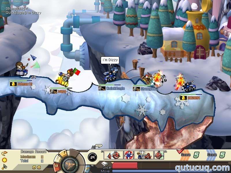 GunboundWC International ekran görüntüsü
