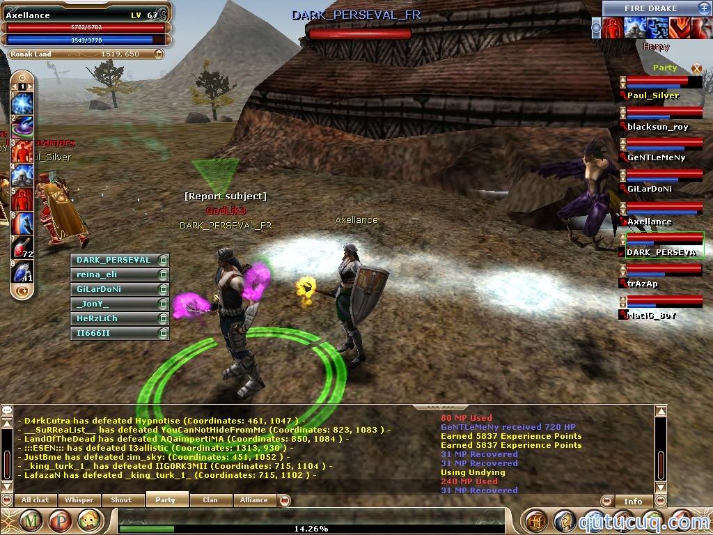 Knight Online World ekran görüntüsü