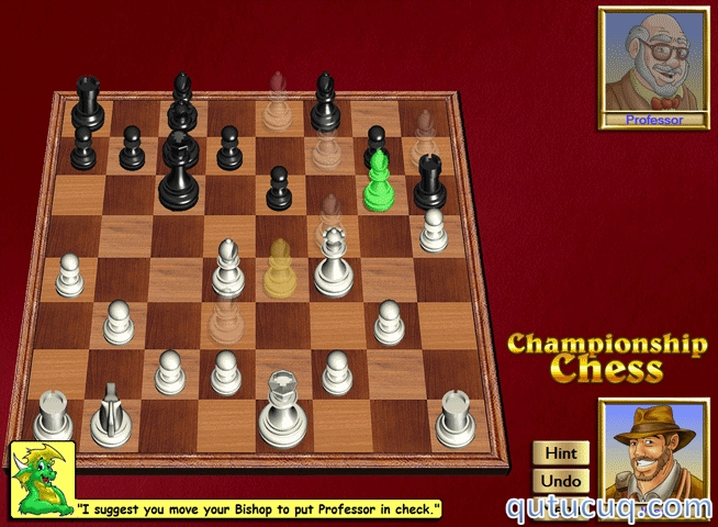 Скриншот в Шахматы — Mayura Chess Board