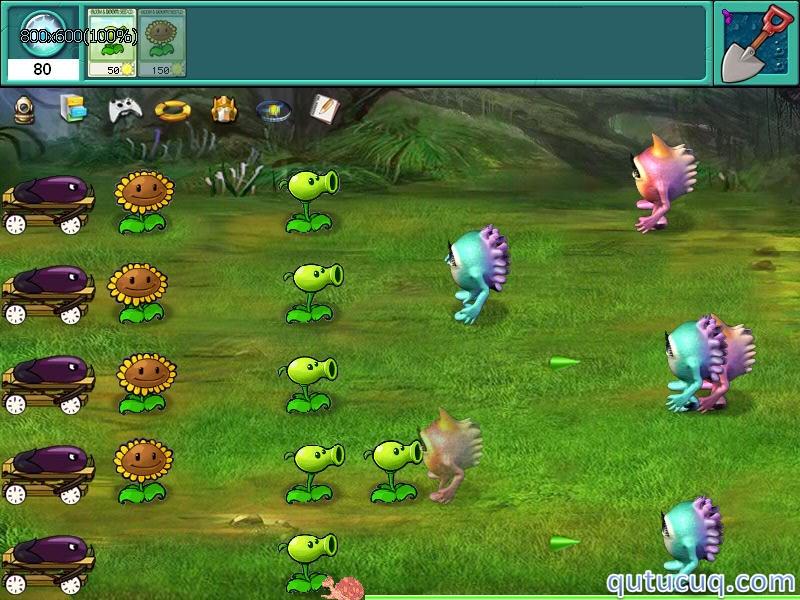 Plants vs Aliens ekran görüntüsü
