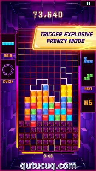 Скриншот в Tetris Blitz