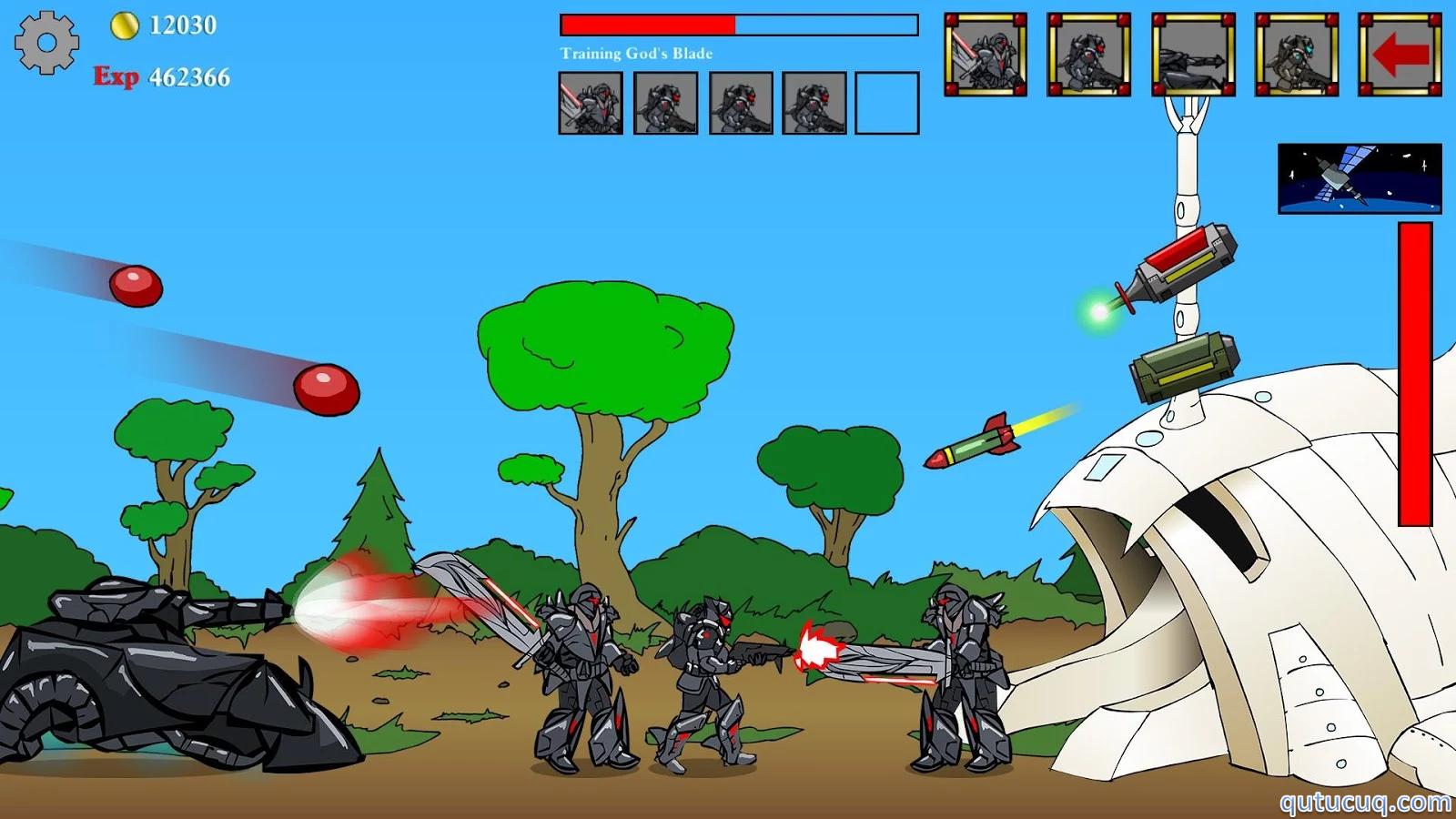 Age of War ekran görüntüsü