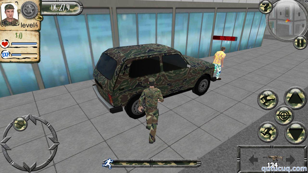 Army Car Drive ekran görüntüsü