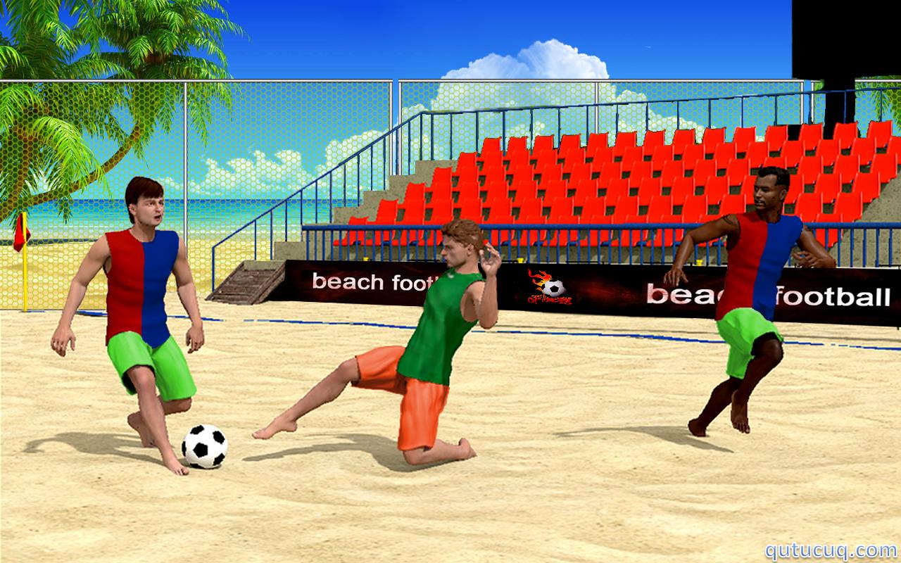 Beach Football ekran görüntüsü